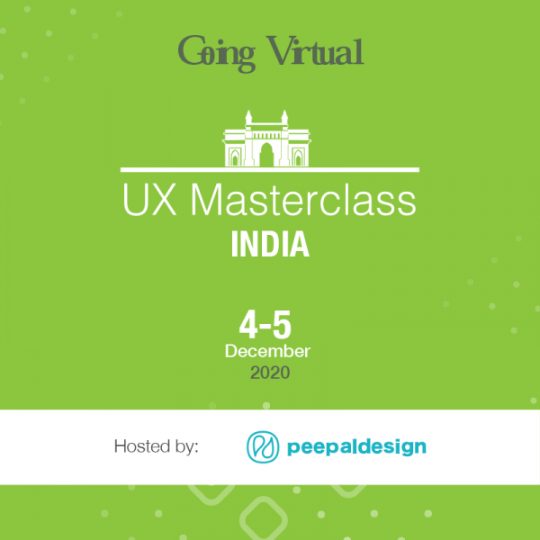 Virtual UX Masterclass: The Changing Faces of UX