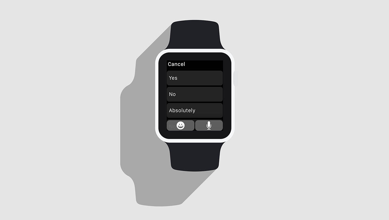 Apple Watch notifications screen