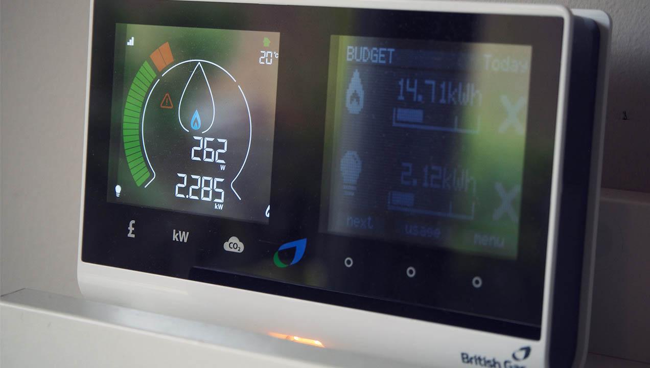 British Gas interface