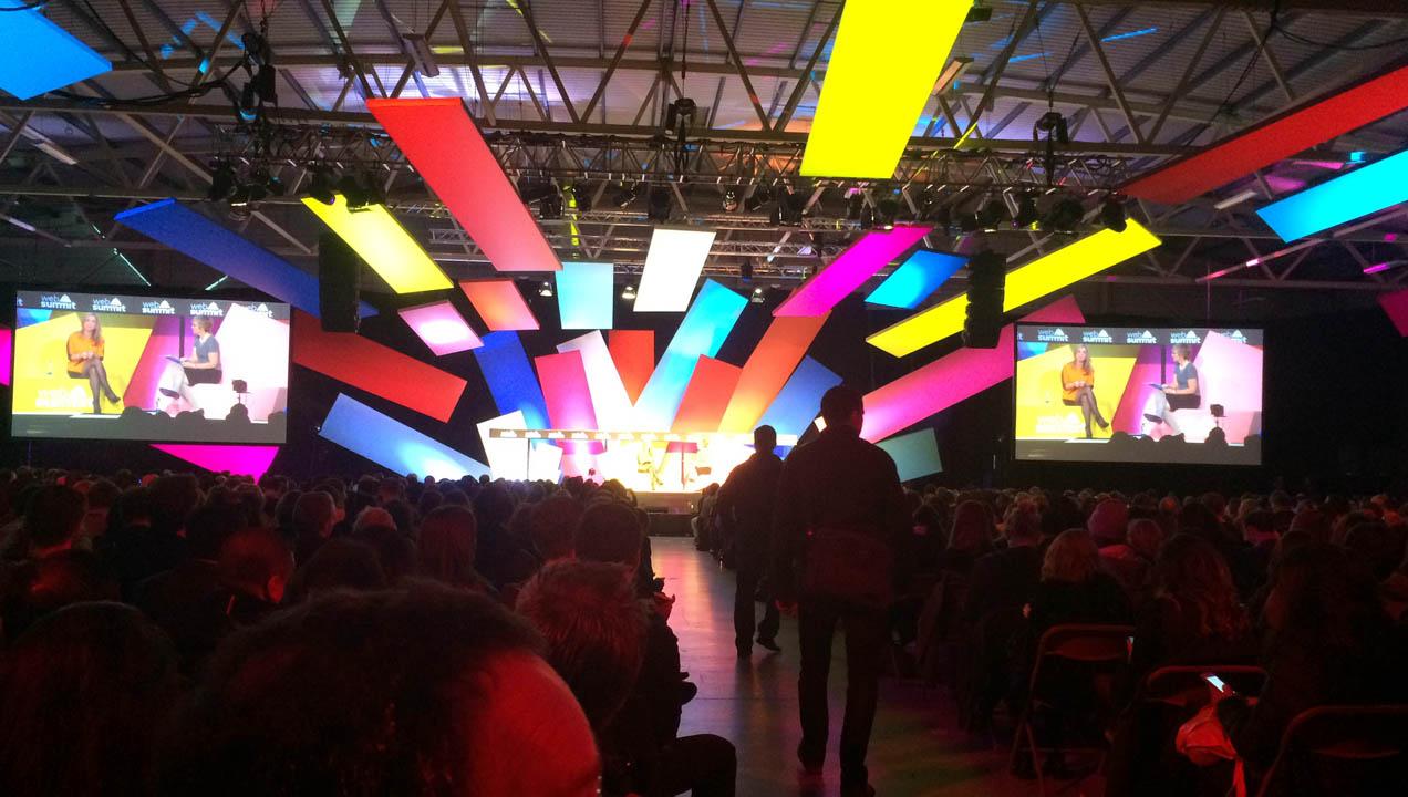 Web Summit stage