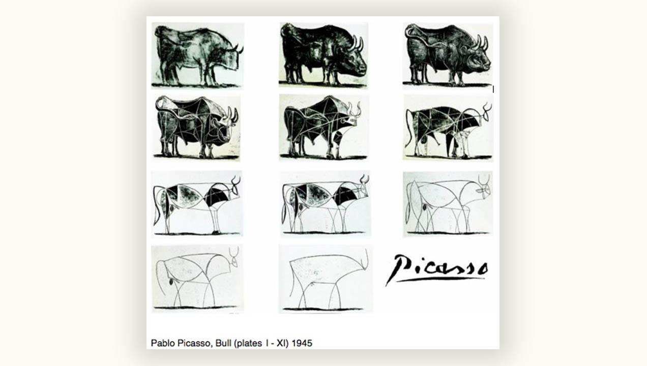 Pablo Picasso, Bull (Plates I - XI) 1945