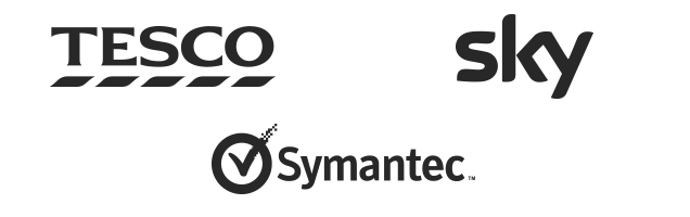 Clients - Tesco, Sky, Symantec