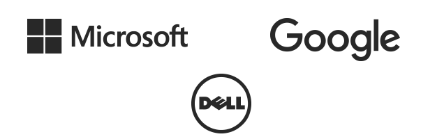 Clients - Microsoft, Google, Dell