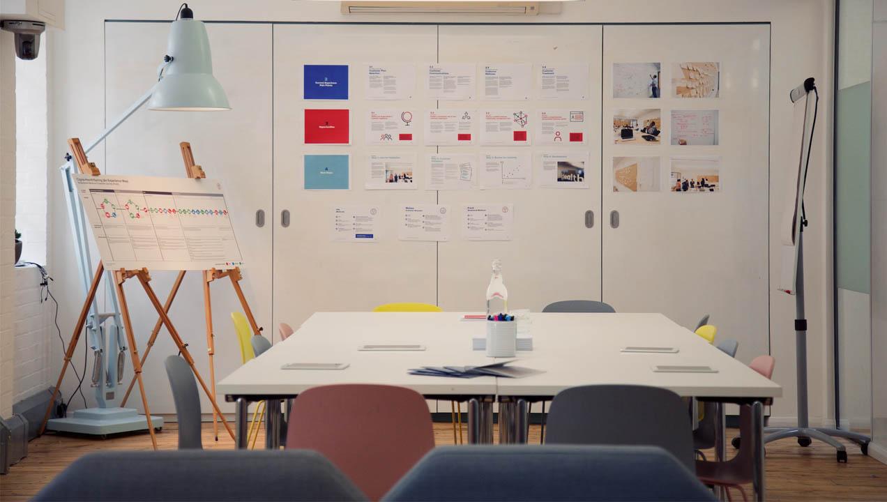 Meeting room set up