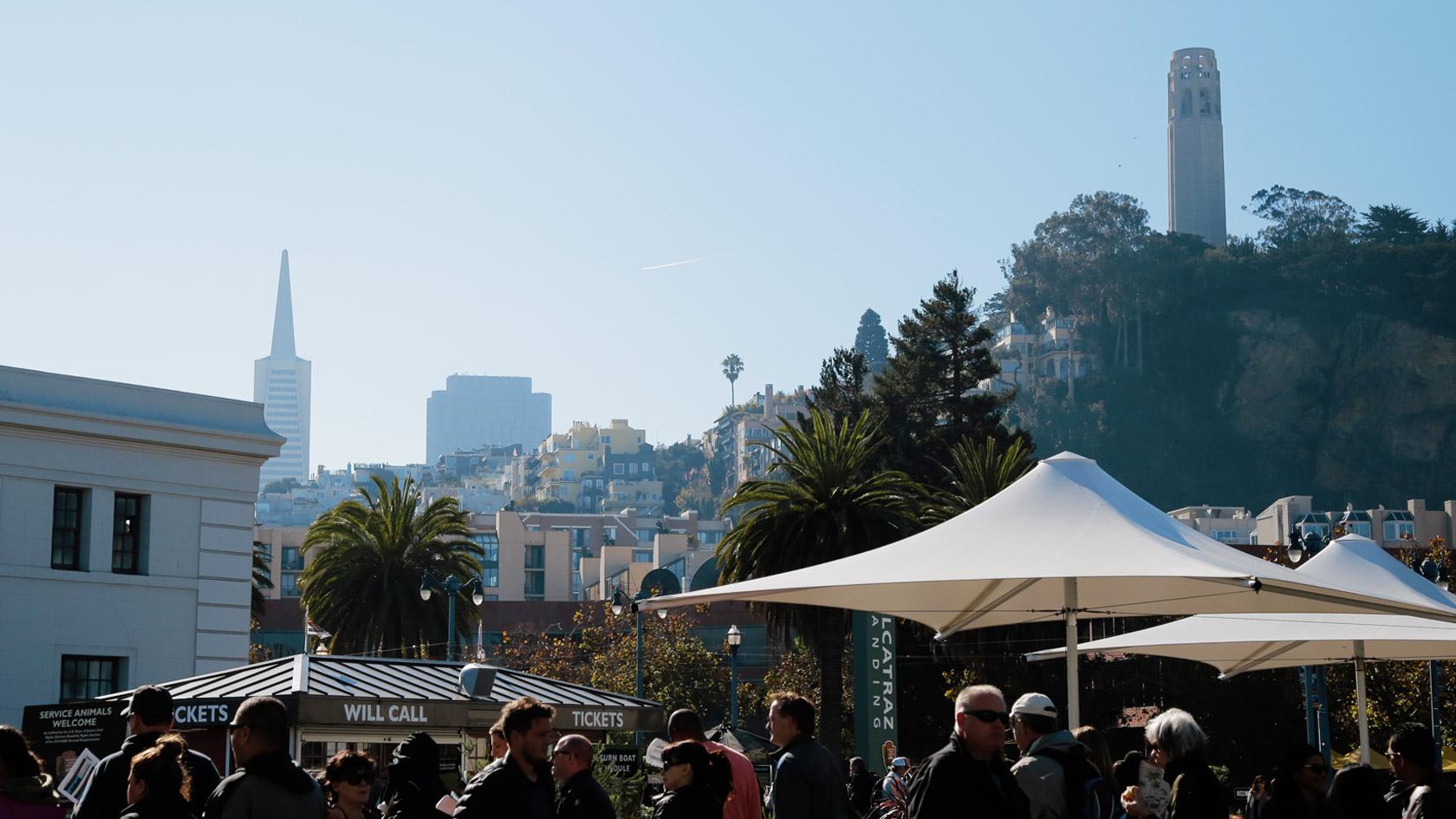 San Francisco outside