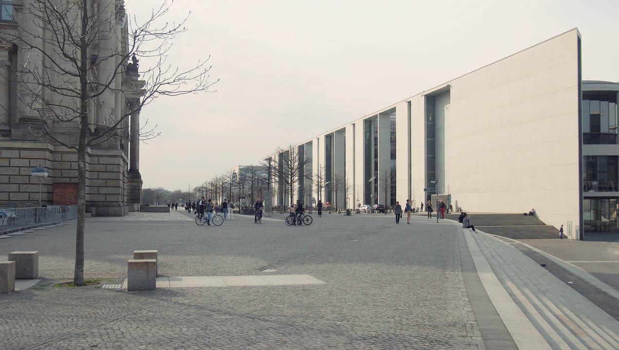 Berlin walkway