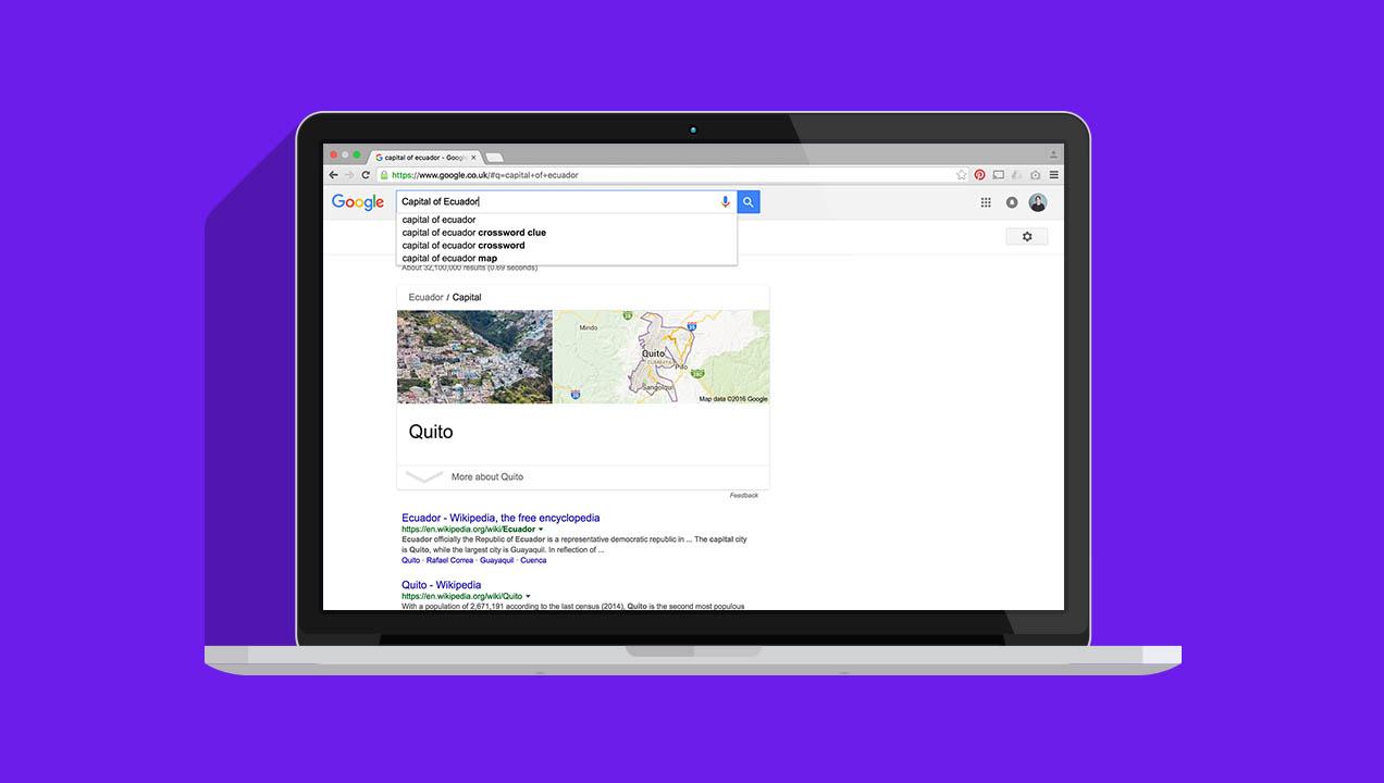 Google Search_Capital of Ecuador
