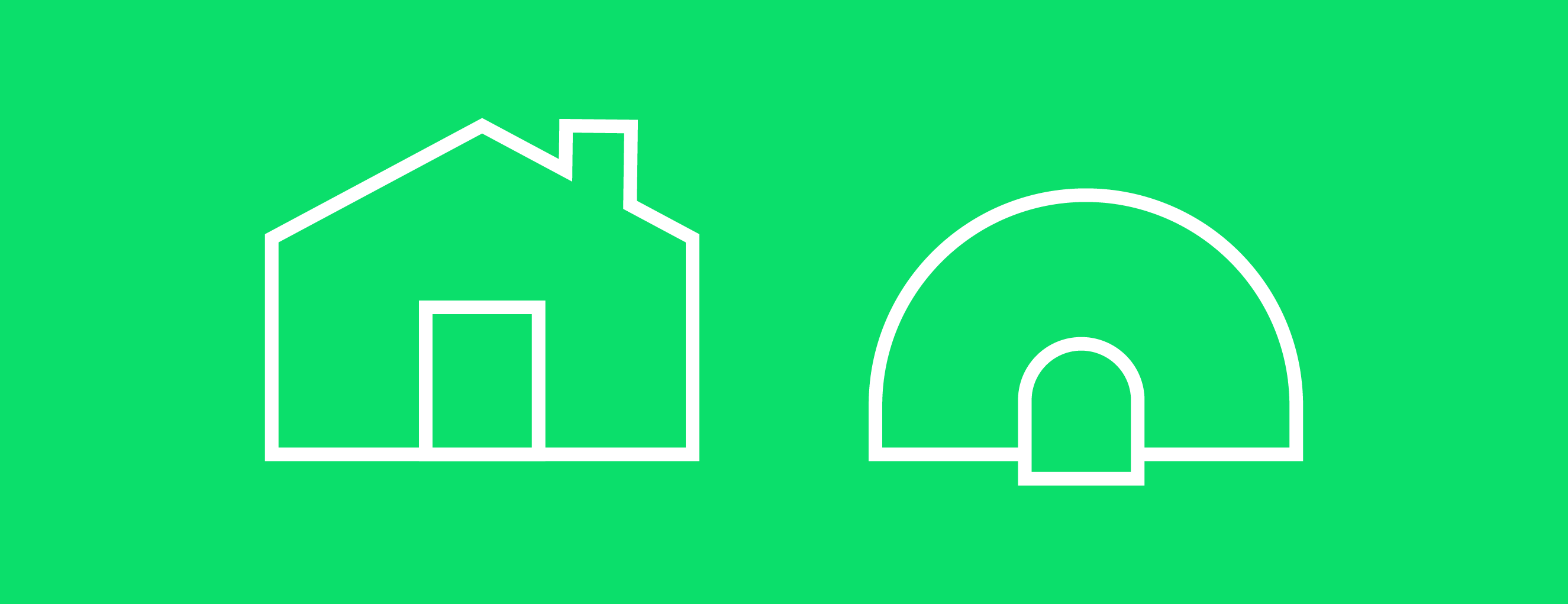 Homes come in different shapes around the world. Not many people live in Igloos, but if you did, it might change your expectation of a Home button design.