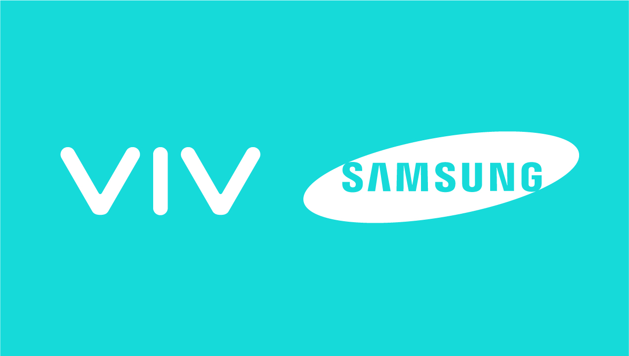 Samsung and Viv logos