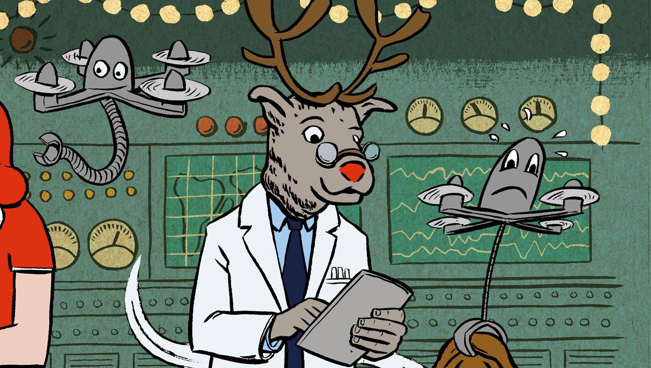 Illustration of Rudolf