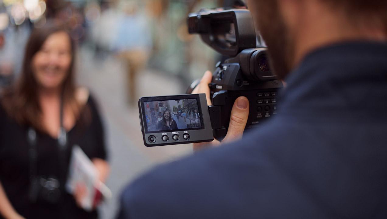 Street interview