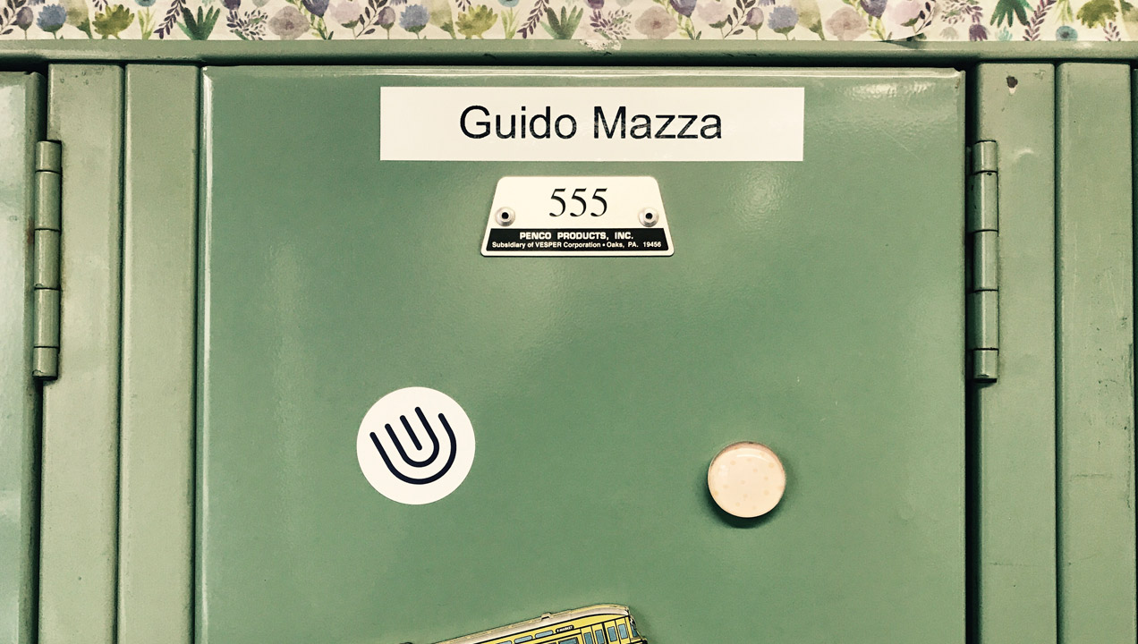 Image of Giulia's locker