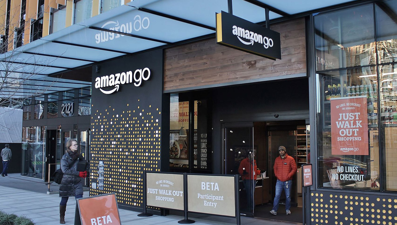 Image of an Amazon store