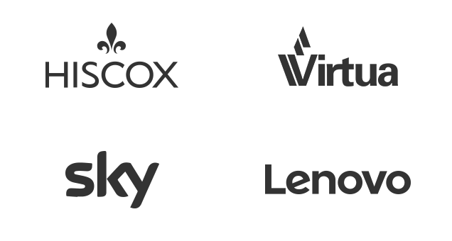 Clients - Hoscox, Virtua, Sky and Lenovo
