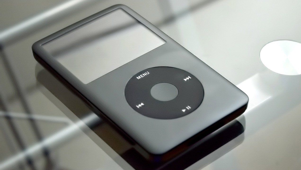 Image of an iPod
