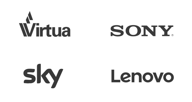 Clients - Virtua, Sony, Sky and Lenovo