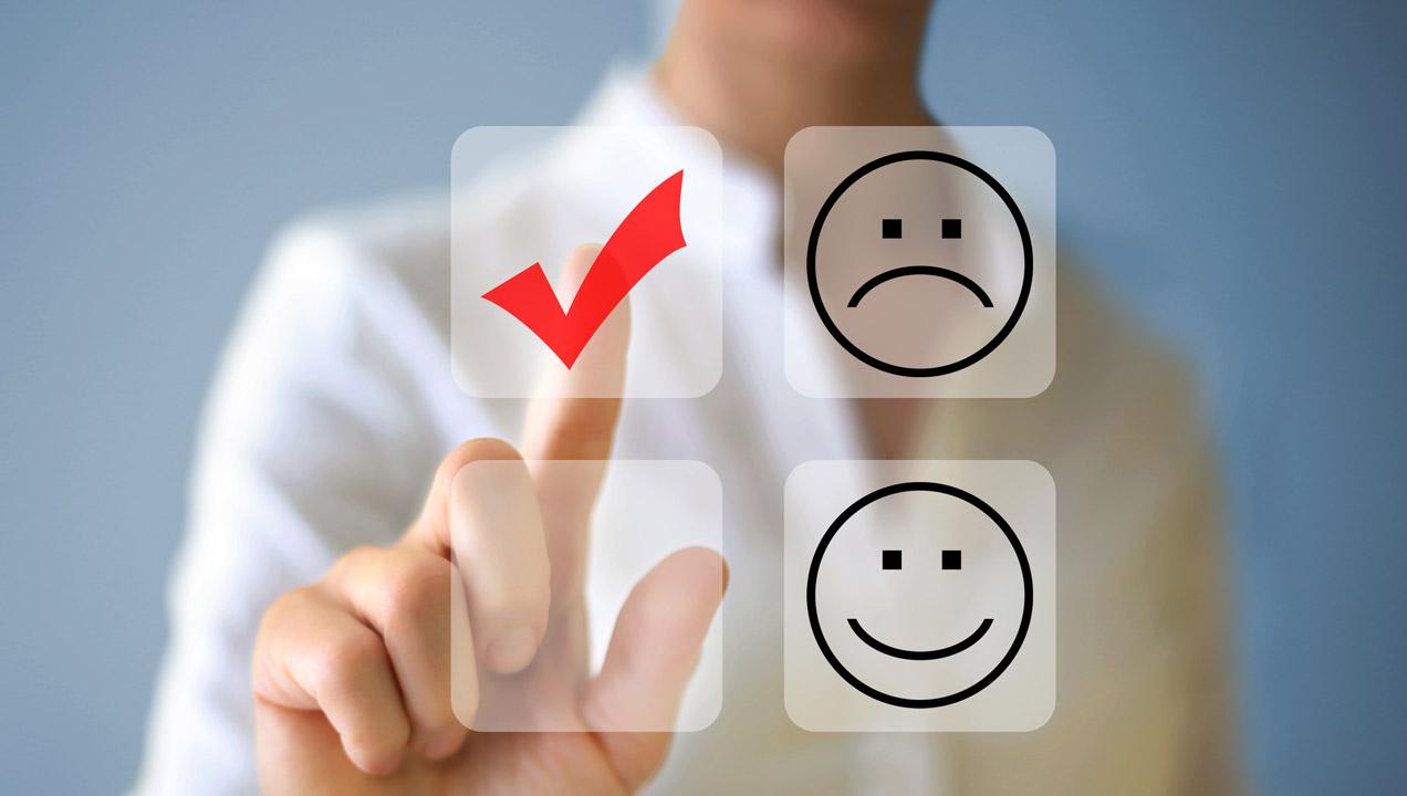 Customer experience emojis