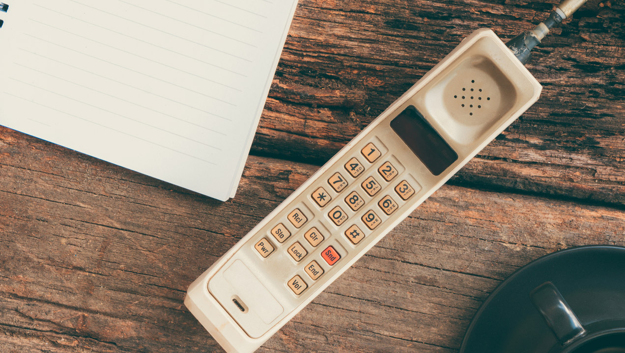 Image of vintage phone