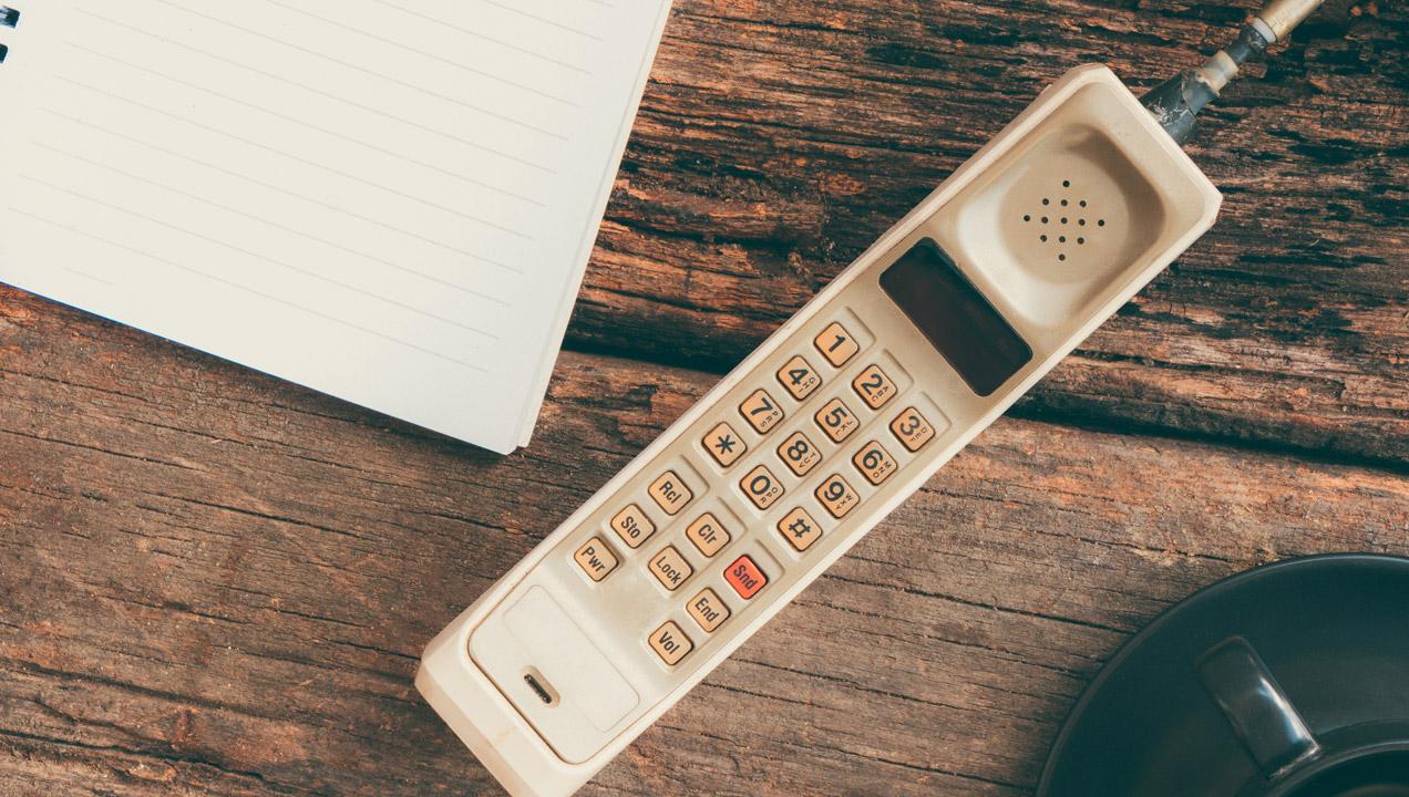 Image of vintage phone