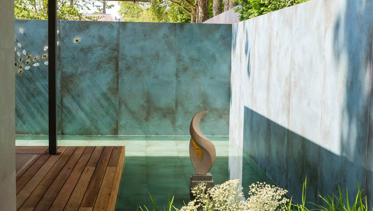 The Morgan Stanley Garden designed to raise awareness of the work of the NSPCC won Best Show Garden. Image via the RHS