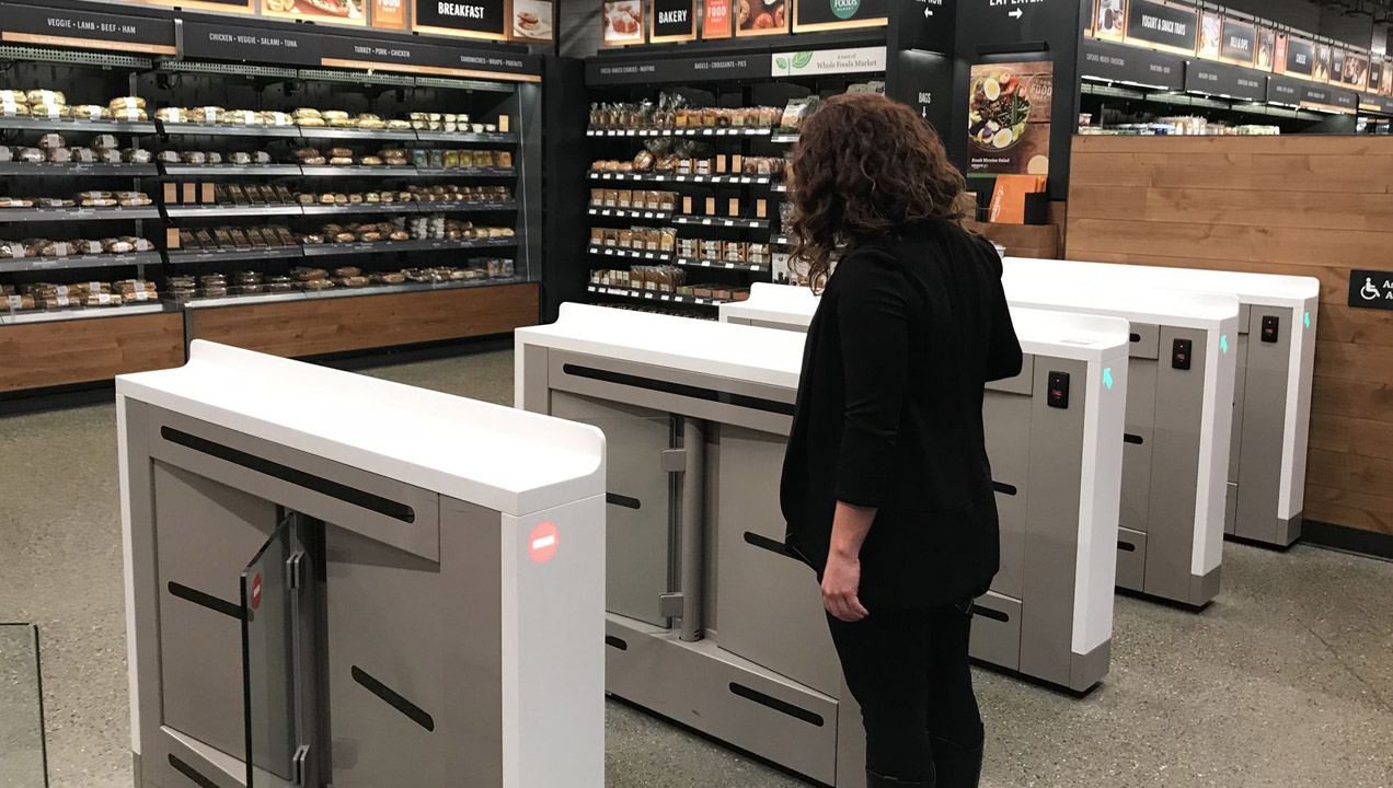 At the new Amazon Go convenience store in Seattle by Jason Del Rey