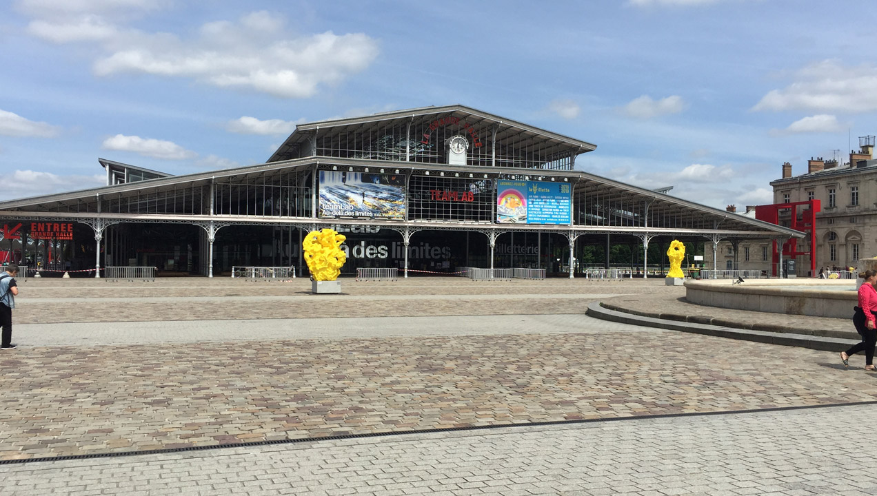An exterior image from the future retail event