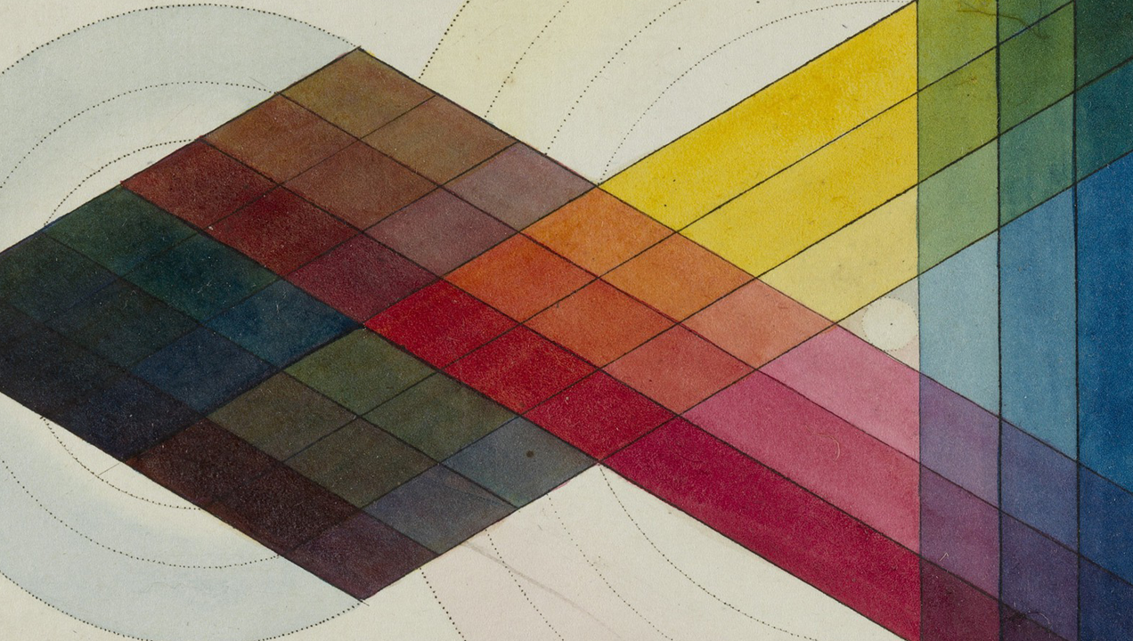 A tool for pinpointing colour, published in 1809 via The Welcome Collection