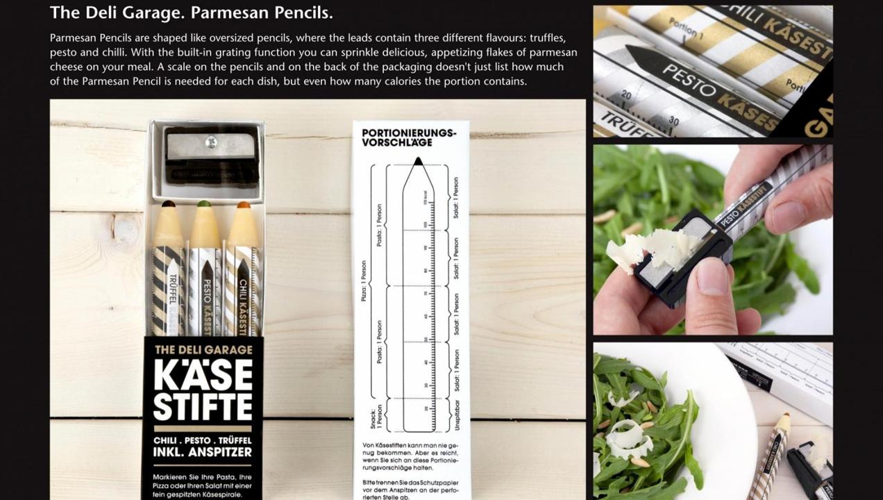 Image of parmesan pencils