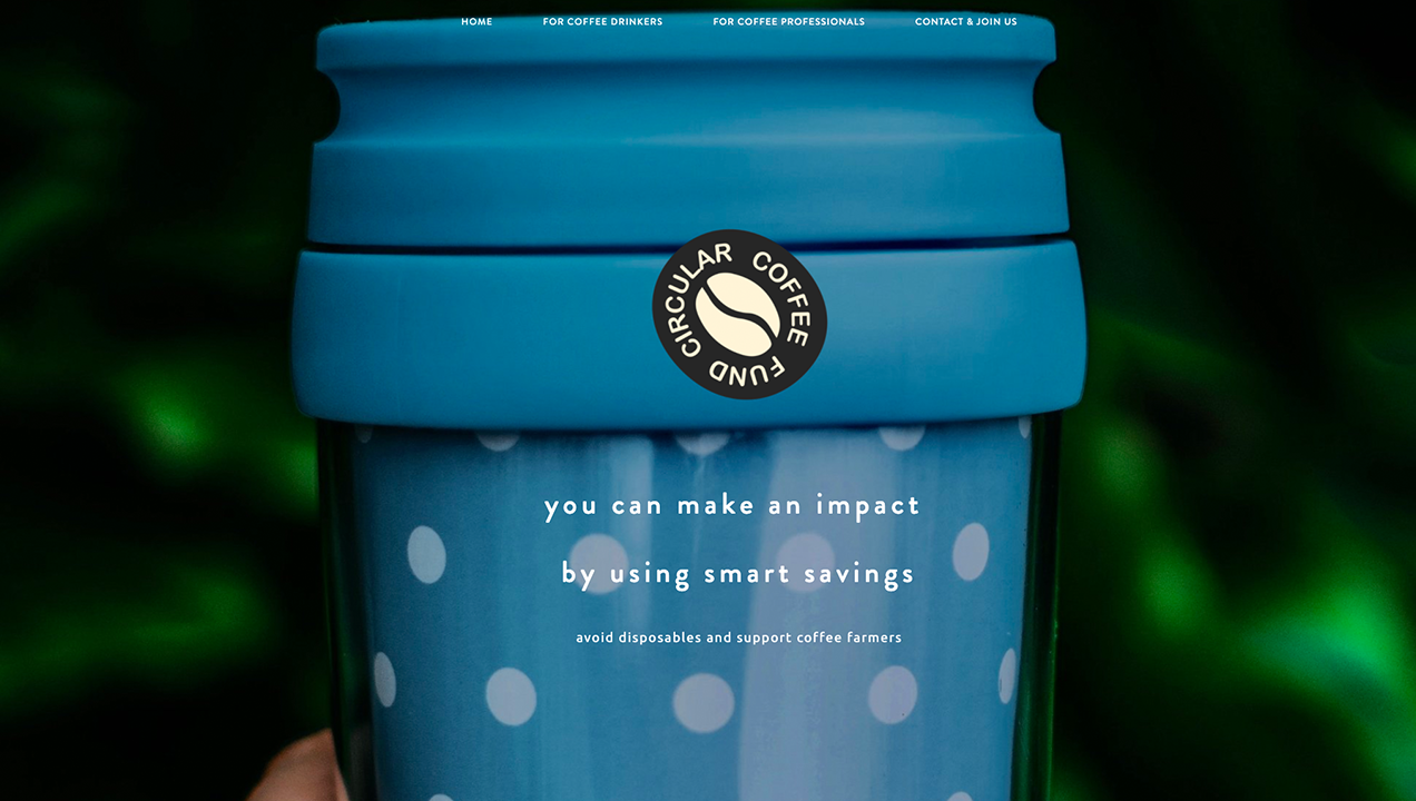An example of circular design at work via The Circular Coffee Fund